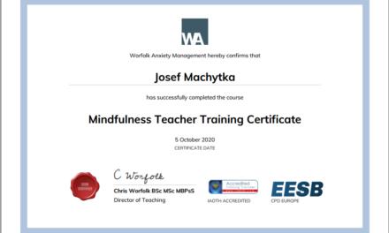 Mindfulness Teacher Training Certificate